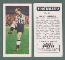 Newcastle United Jimmy Scoular Scotland 21